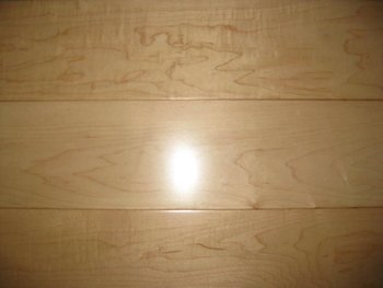 hard maple color sample