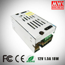 S-18-12 12V 1.5A 18W small mini size switching power supply Factory direct sale
