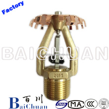 Fire Safety Systems Reliable ESFR Sprinkler Head Model Steel Sprinkler Price