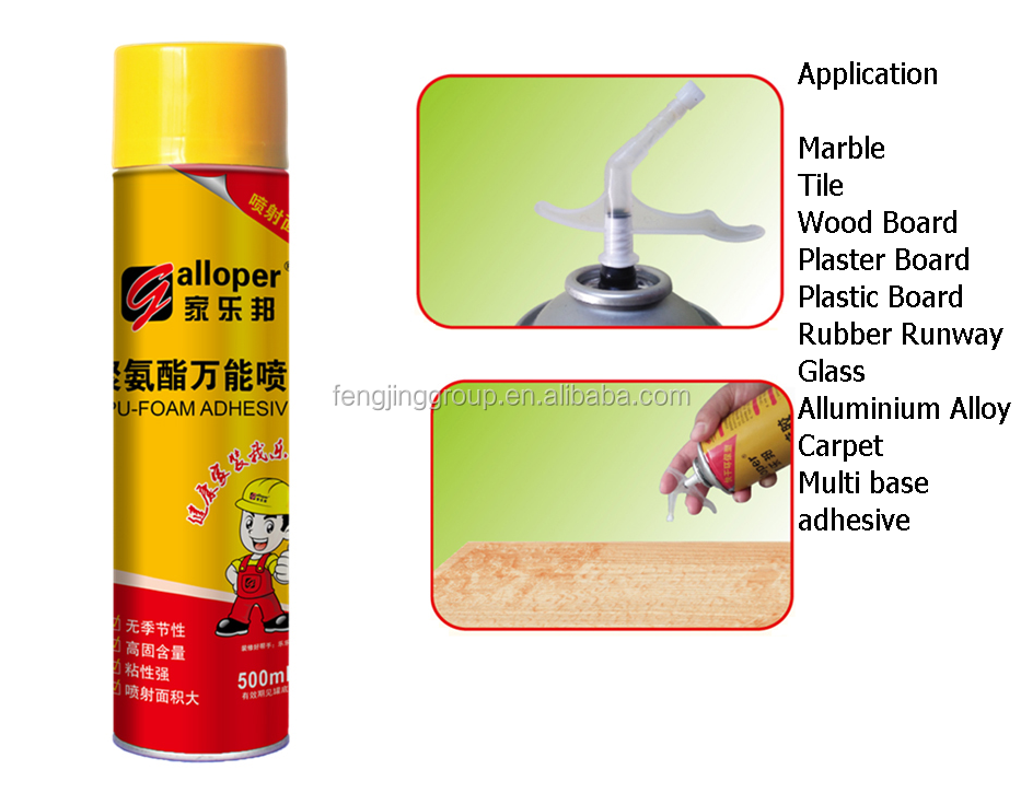New product spray adhesive for plaster board from factory