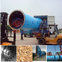 China Factory Direct Sale Woodchips Rotary Dryer