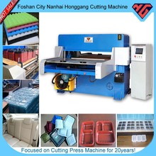 hydraulic automatic sound absorption foam press cutting machine
