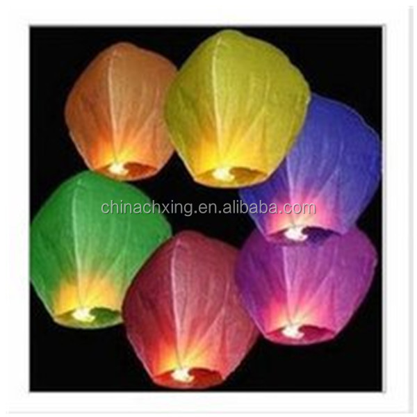 New Year celebration sky lanterns Chinese Kong Ming Deng