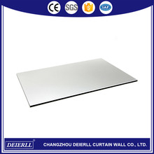 Hot selling 3mm/4mm exterior wood wall aluminum composite panel made in China