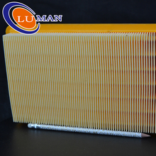 Korea paper high quality yellow color width pleated paper air filter B20503PR B20504PR 12-0011 12-0020