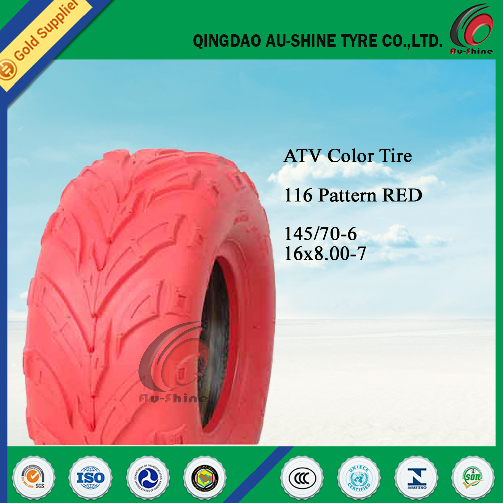 colorful golf cart tyre/ATV tire 16x8.00-7