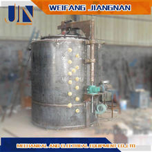 20T Single Chamber Melting Furnace With Vortex Well For Smelting Aluminum Scrap