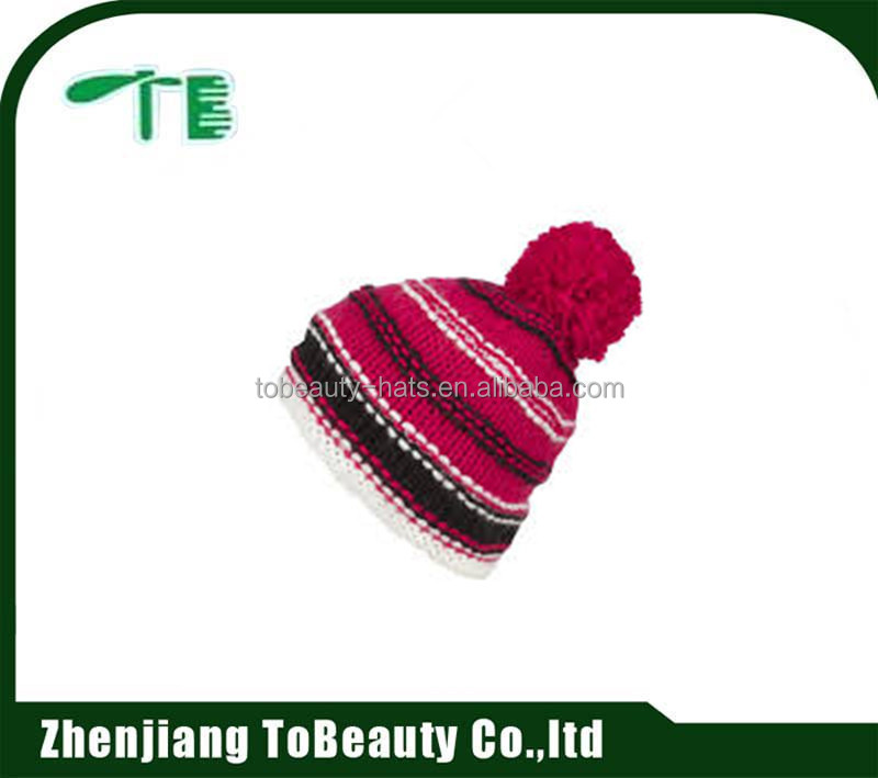 wholesale custom children winter beanies hats/beanie baby knitted hat hot sale