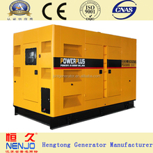 low price 360kw generator diesel silent type genset with global warranty