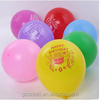 Cheap promotion gift balloon china supplies