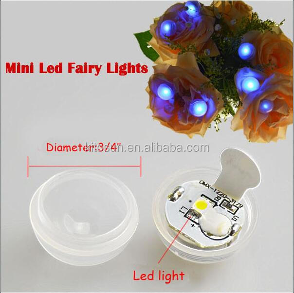12 Colors Available 2 Replaceable 1220 Batteries Powered Fairy Pearls Magic LED Berries Twinkle LED Mini Lights
