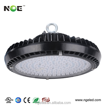 50w 80w 100w 120w 150w 200w 110lm/w dimmable UFO industrial led high bay light