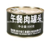 500g Canned Pork Luncheon Meat Military Food,luncheon meat,spam luncheon meat