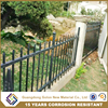 Alibaba outdoor aluminum fencing / courtyard fence / decorative metal front fence