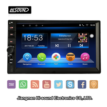 Hot selling 2din android6.0 dvd gps car media with wifi 3g