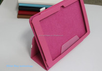 foldable stand leather flip case for lenovo S6000 JX-LXS6