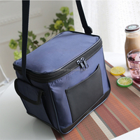 New portable multifunctional insulation food lunch fresh small aluminum foil cooler bags