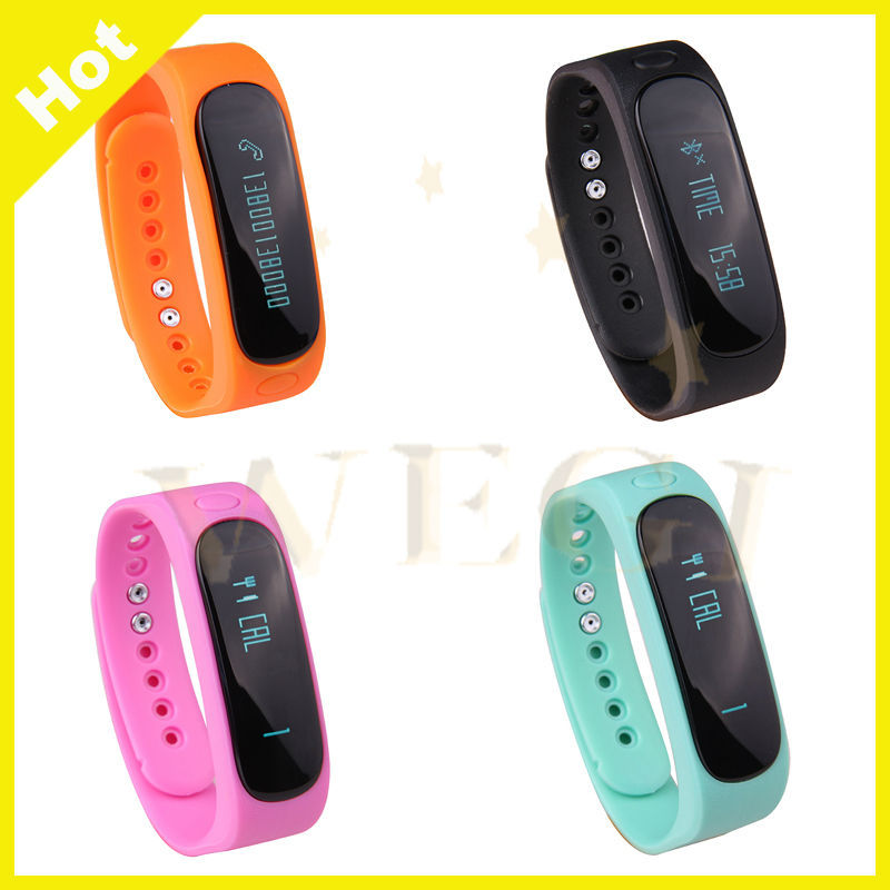 Smart Watch Wrist Band Heart Rate Remote Camera Cycling Mode Fitting Tracker