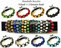 2015 Wholesale Shamballa Bracelets with Shamballa Beads