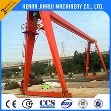ISO CE 35 ton Gantry Crane Loading And Unloading Equipment Single Girder Mobile Gantry Crane