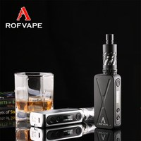 Made in China newest 50W TC Mods Boxer electronic cigarette vaporizer box mod
