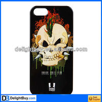Skeleton Unique Human Skeleton Glossy Protective Cover Case for iPhone 5
