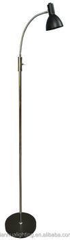 Floor lamp with toggle switch