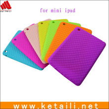 Defender silicone tablet PC case for ipad mini in 7 candy color