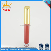 OEM shanghai cosmetic manufacturing liquid lipstick, private label liquid lipstick matte waterproof