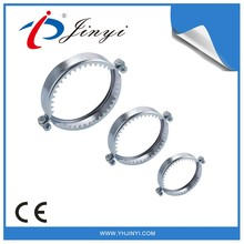 China factory Stainless steel small diameter Hose clamps with teeth