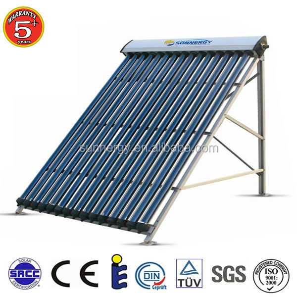 China Supplier Vacuum Tube Solar Collector Panel 20tubes