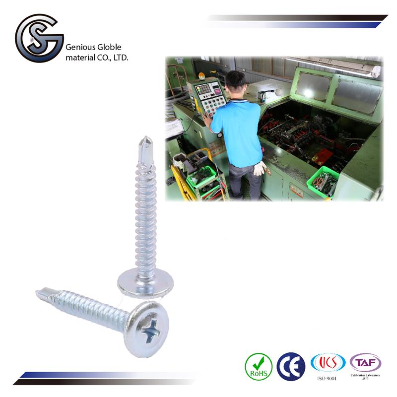 GS-07 high quality high quality self drilling screw for metal roof