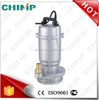 CHIMP QDX series 0.25kW 1 inch china auto irrigation electric submersible pump