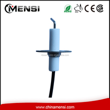 Gas oven ignition electrode spark plug