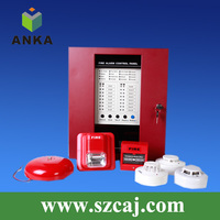 2016 8 Zone Conventional Fire Alarm Fire Fighting Control Panel System