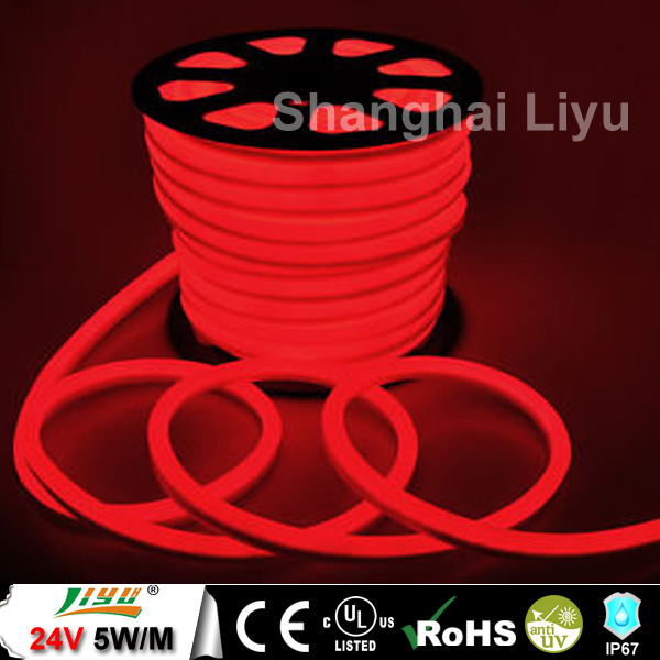 LIYu High quality 360 degree outdoor rgb led neon flex, led pixel flex