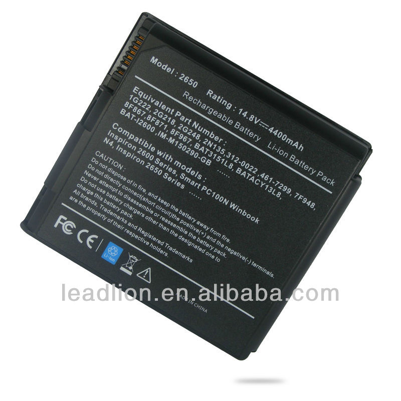 Dell Inspiron 2650 2600 replacement laptop battery