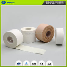 cotton fabric sport tape CE FDA approved