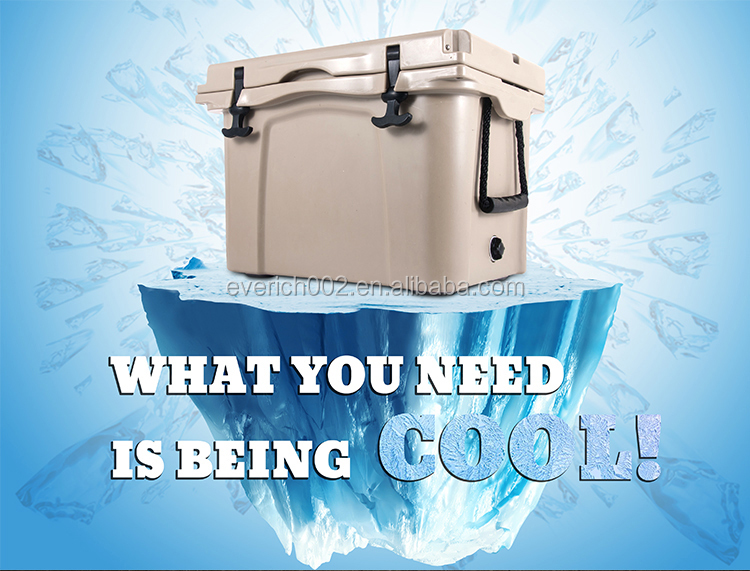 Rotomolded Insulated Thermal Food Carrying Ice Cooler Box