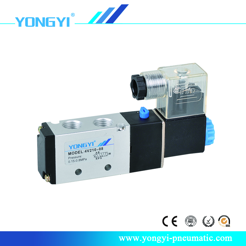 4V210 2 position 5 way Solenoid Valve