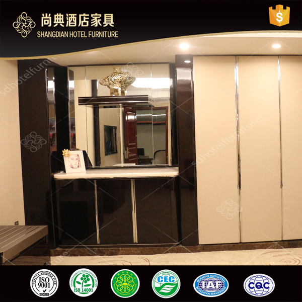 New Model Wholesale Hotel Mini Bar Counter Cabinet With Wardrobe