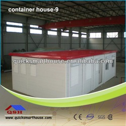 Easy assembled prefabricated container house for office