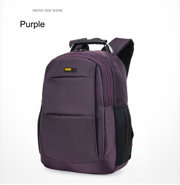 Laptop Backpack Type and Genuine Leather Material Leather bag