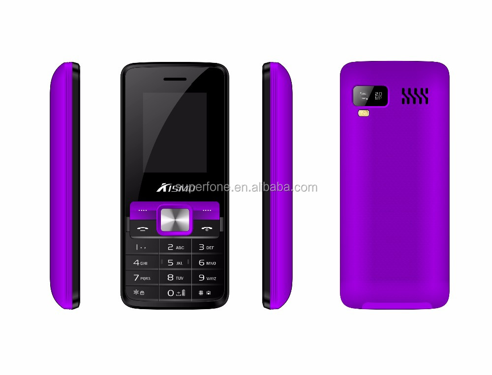 T5160 OEM 1.8 Inch Screen Quad Band Unlocked Dual SIM MP3 MP4 FM GSM Feature Mobile Phone