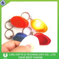 Hard Hat Led Lighting Keychains for Promotion