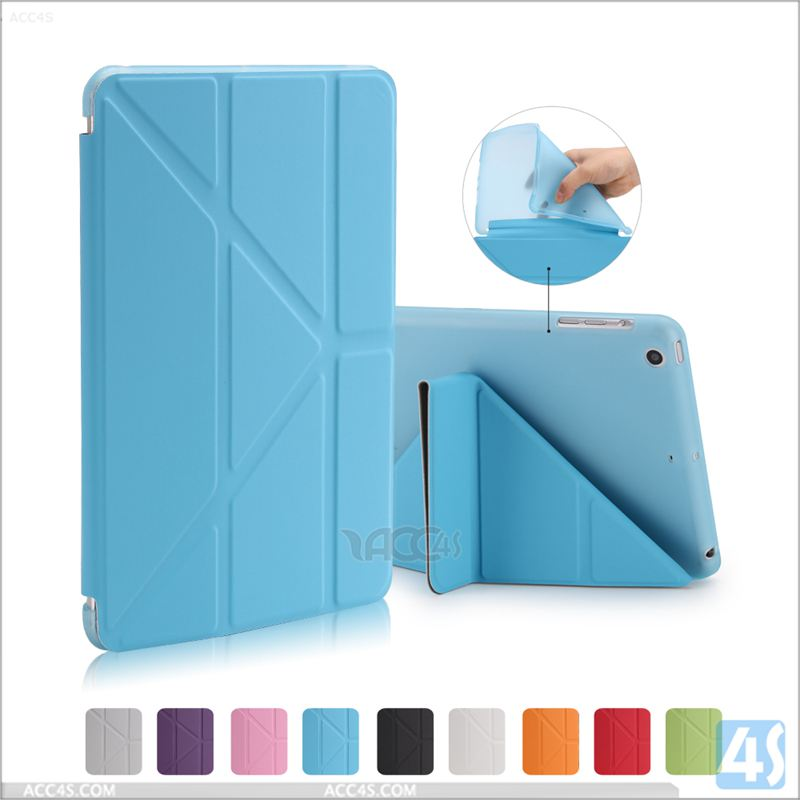 2016 Replacement Flip PU Leather Stand Back Cover Case For APPLE iPad mini 2/3