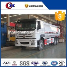 Best price Sinotruk howo 336hp fuel oil gas tanker truck for sale