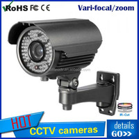 Varifocal bullet cctv WDR car license plate camera Infrared 700TVL 2.8-12mm lens