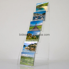 High Quality Customized Multistep Brochure Rack Photo Album Display Stand