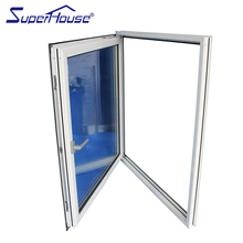 Australia standard as2047 cheap price used aluminum casement window with blinds